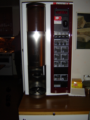 Kaffeautomaten på jobbet