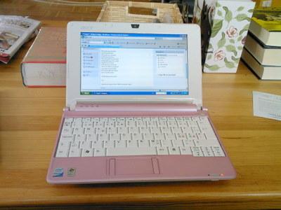 Min lilla rosa dator