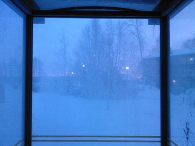 Frostbiten utsikt