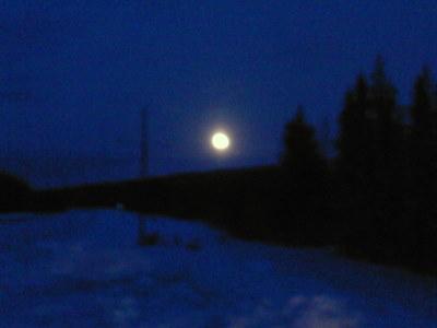 Fullmåne i februari