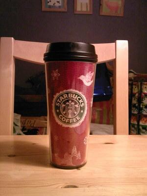 Min Starbucksmugg