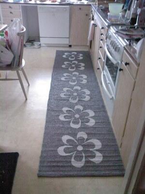 Ny matta i köket
