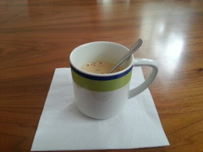 Starkt kaffe - nåja