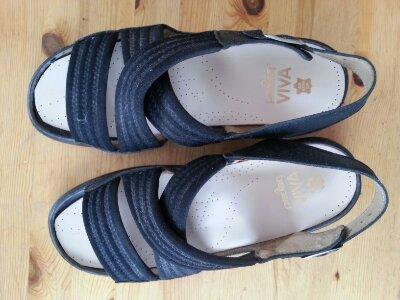 Nysulade sandaler