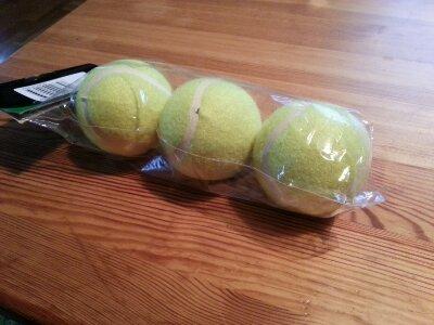 Tennisbollar