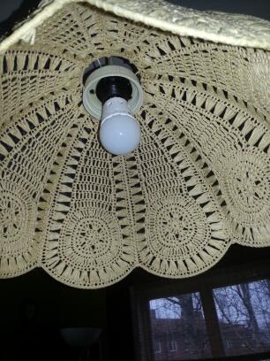 Lampa 1 före